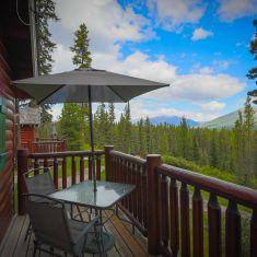 Cooper Cabin Deck