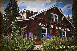 Paradise lodge & Bungalow offices