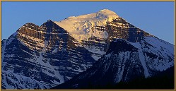 Mount Temple near Lake Louise
