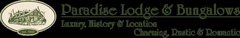 Paradise Lodge & Bungalows Logo