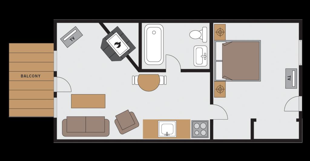lodge hotel suite floor plans paradise lodge