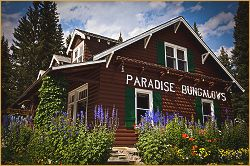 Paradise lodge & Bungalow offices