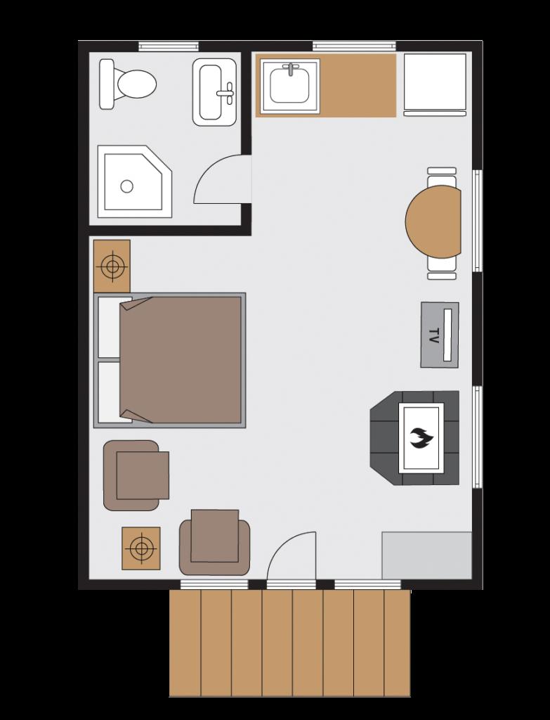 Wilson Cabin Floor Plan